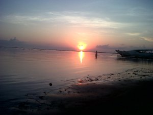 Eksotisme Sunrise di Pantai Sanur